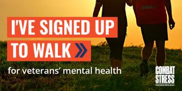 Social Badge - I've signed up to walk
