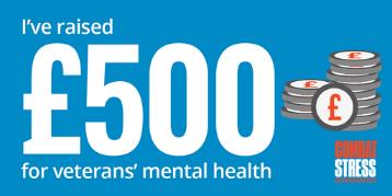 Social Badge - I've raised £500